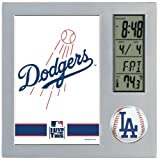 MLB Los Angeles Dodgers Digital Desk Clock
