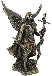 amazon com saint raphael the healer statue archangel home kitchen