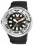 Citizen Men's BJ8050-08E Eco-Drive Professional Diver Black Sport Watch