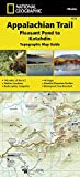 Appalachian Trail, Pleasant Pond to Katahdin [Maine] (National Geographic Trails Illustrated Map)