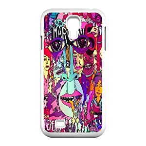 Qxhu maroon 5 patterns Pattern Protective Hard Phone Cover Case for SamSung Galaxy S4 I9500