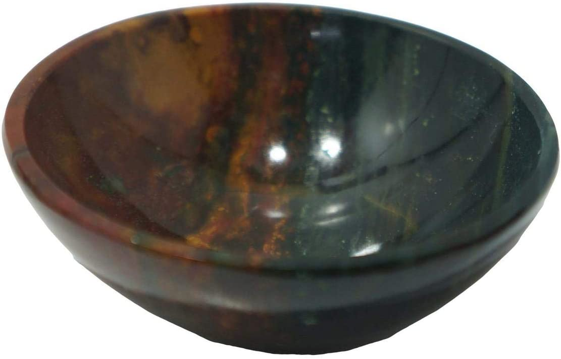 IFH Amethyst Reiki Bowl Hand Carved Crystal Spiritual Healing Energy Gemstones