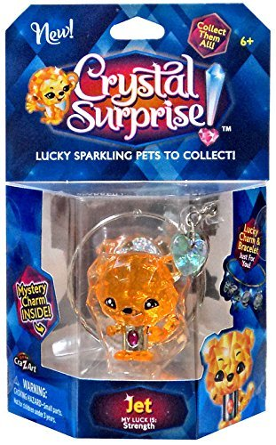 Crystal Surprise! Jet Lucky Pet Figure [Random Color Pet!] Cra-Z-Art