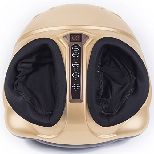 Foot Massager Machine with Switchable Heat Function