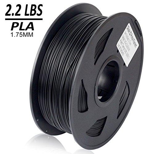 Dikale-PLA-3D-Printer-Filament-1KG335m1099ft-175mm-Dimensional-Accuracy-002-mm-1KG-Spool-175-mm-Black
