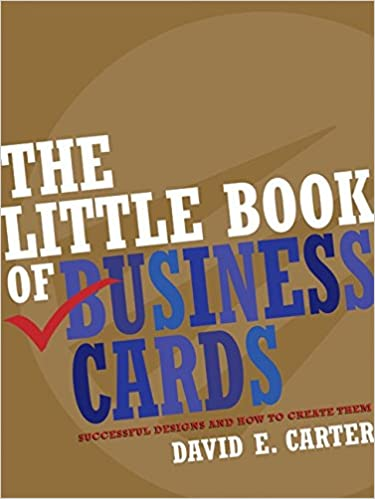 The Little Book Of Business Cards Successful Designs And How To