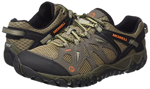 Merrell Men's All Out Blaze Aero Sport Hiking Water Shoe, Khaki, 8 M US by Merrell (Image #6)