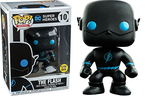 Funko Pop! Vinyl Justice League The Flash Silhouette Glow in the Dark Entertainment Earth Exclusive Dark Silhouette