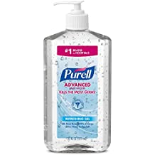 PURELL Advanced Hand Sanitizer Bottle - Hand Sanitizer Gel, 20 fl oz Pump Bottle (Pack of 2) - 3023-12-EC