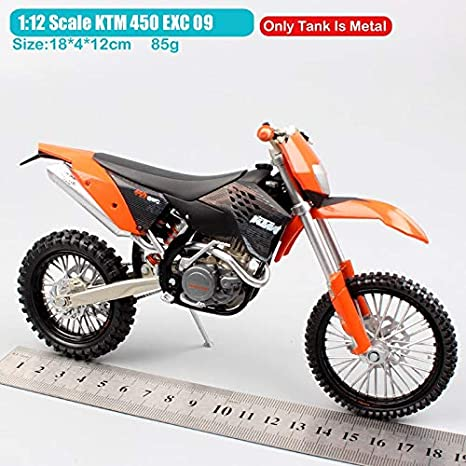 Amazon.com: Diecasts Toy Vehicles Scale Motorcycle diecast ...