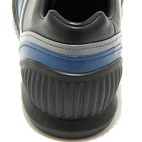 Uomo Bluette 1413G Bluette Nero Men Shoes Prada Sneaker Nero Sport Scarpa PLUMEL Vitello wBn8q
