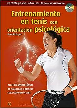 Book's Cover of Entrenamiento en tenis con orientación psicológica (Español) Tapa dura – 6 febrero 2015