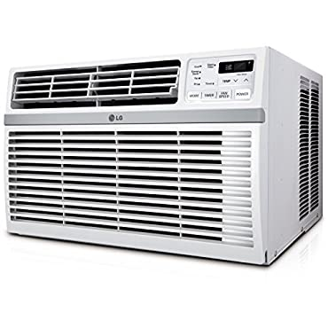 LG LW1516ER 15,000 BTU 115V Window-Mounted Air Conditioner with Remote