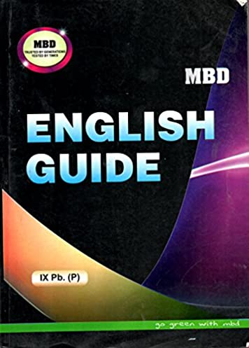 english guide class 9th amazon in mbd pseb class 9th books rh amazon in mbd english guide for class 7 mbd english guide for class 10