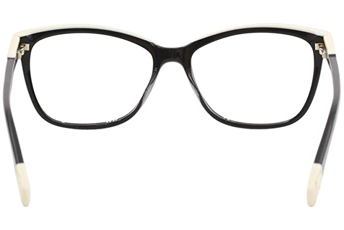 e724091f633 Amazon.com  Furla Womens Eyeglasses VU4970N VU 4970 N 0700 Black Full Rim  Optical Frame 52mm  Clothing