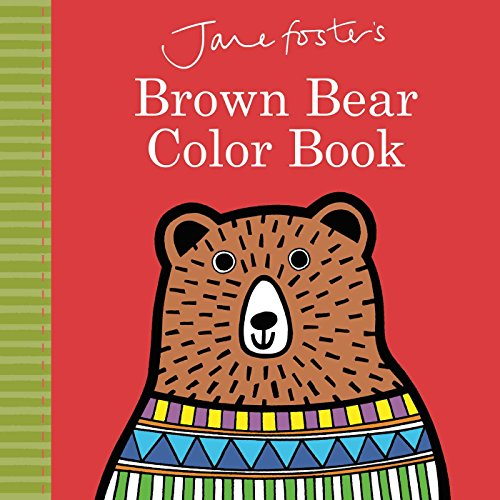 Jane Foster's Brown Bear Color Book (Jane Foster Books)]()