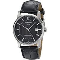 Tissot T-Classic Analog Display Swiss Automatic Men's Watch (Black Dial)