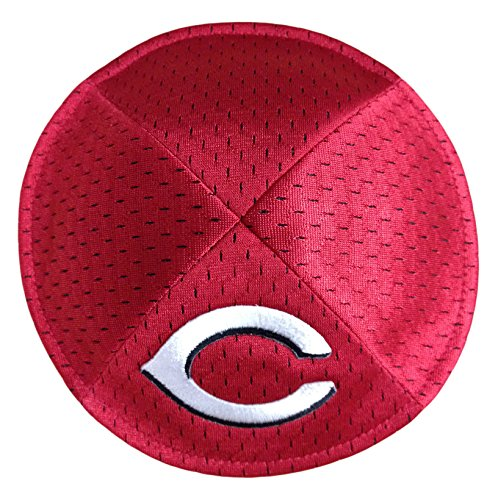 Emblem Source MLB Cincinnati Reds Men's Kippah, One Size, Red