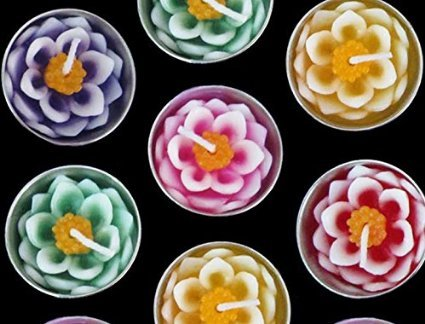 Flower Floating Candles Scented Aromatherapy product image