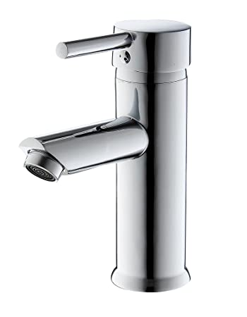 Greenspring Single Handle Bathroom Sink Faucet Stainless Steel Basin Mixer Taps Chrome Finish