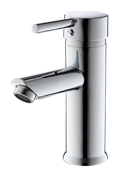 greenspring single handle bathroom sink faucet stainless steel basin mixer tapschrome finish