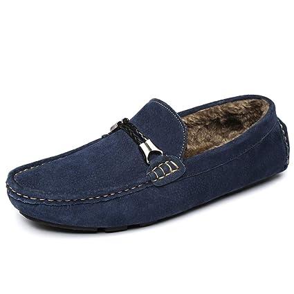 Xiazhi-shoes, Mocasines de conducción Casuales de los Hombres y cómodos con Mocasines de