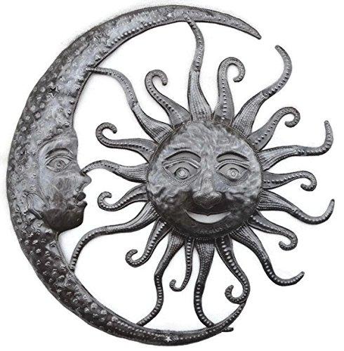 it's cactus - metal art haiti Sun and Moon Celestial Pair Haitian Wall Art 23