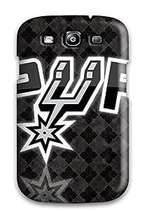 For Galaxy S3 Premium Tpu Case Cover San Antonio Spurs Basketball Nba (36) Protective Case