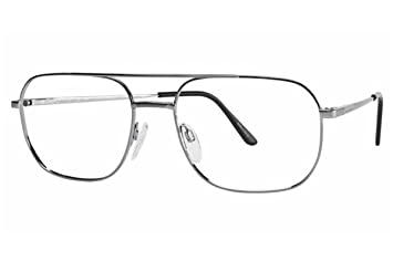 139db1b80a Image Unavailable. Image not available for. Color  Aristar By Charmant Men s  Eyeglasses AR6700 AR 6700 005 Gray Optical Frame 55mm