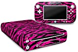 Cheap Designer Skin for Nintendo Wii U Console plus Controller Decal for: Wii U System – Zebra