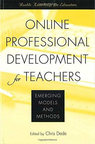 Online Professional Development for Teachers: Emerging Models and Methods
