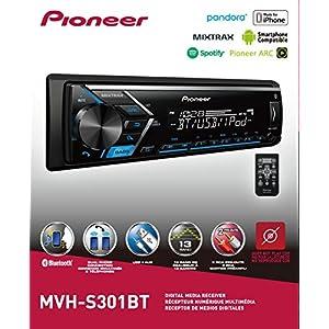 OPEN BOX PIONEER MVH-S301BT MVH-S300BT SINGLE DIN BLUETOOTH USB AUX CAR STEREO DIGITAL MEDIA RECEIVER PLAYER