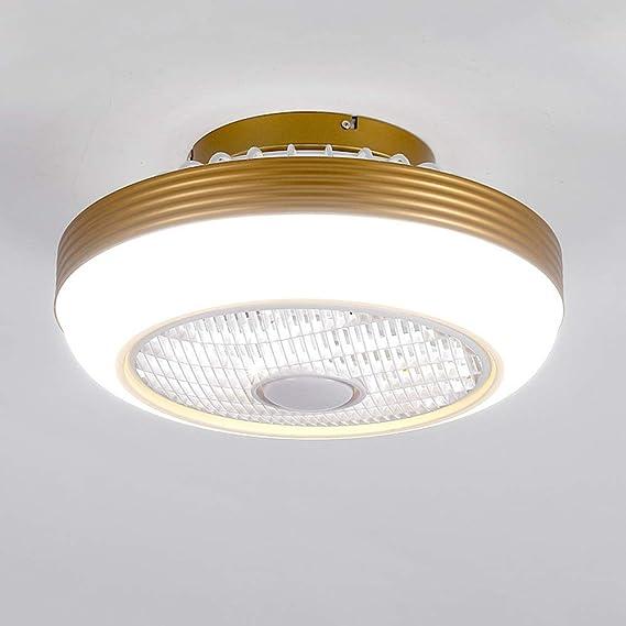 Luz del ventilador de techo con luz Y mando a distancia, moderna ...