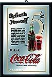 Nostalgic Art ノスタルジックアート スピーゲルミラー Coke 80717 20×30cm