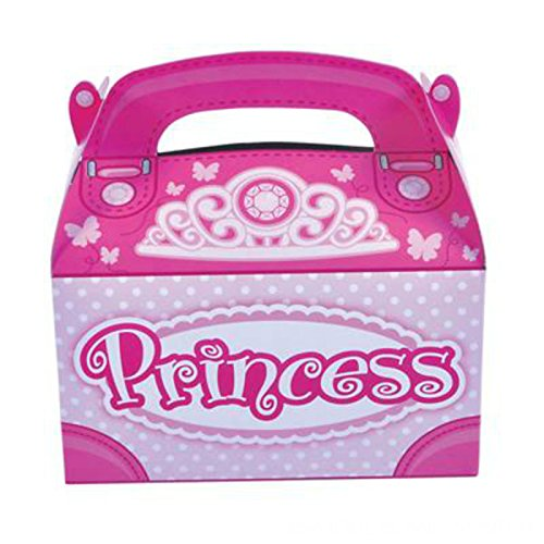 Party Favor Princess Treat Boxes (Pack of 12) - Play Kreative TM (Princess Treat)