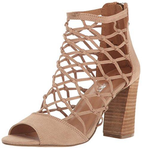 Report Women's Mixie Dress Sandal, Nude, 8 M US