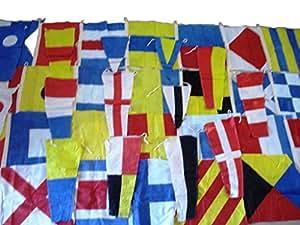 Producto Marine - de barco de la señal de la bandera de código de navegación - 100% de la bandera de algodón - 40 - 38,1 cm X 15