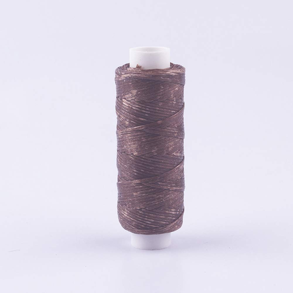 Lyanther Hilo de Nylon Encerado Carrete de 0.55MM x 50m Negro