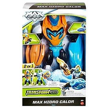 Mattel - Figura de acción MAX Steel (CDX39): Amazon.es: Juguetes y juegos