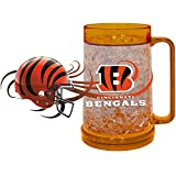 NFL Cincinnati Bengals Freezer Mug (16-Ounce), Large, Orange