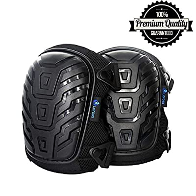 LAROSA MEDICAL Knee Pads - Knee Protector for Gardening, Cleaning, Flooring, Working Construction - Comfortable, Heavy Duty Foam Cushion Knee Pads for Work with Strong and Adjustable Straps
