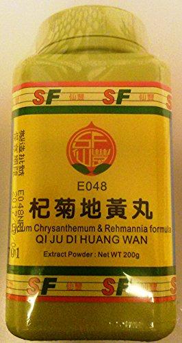 Qi Ju Di Huang Wan - Lycium crisantemo y fórmula Rehmannia