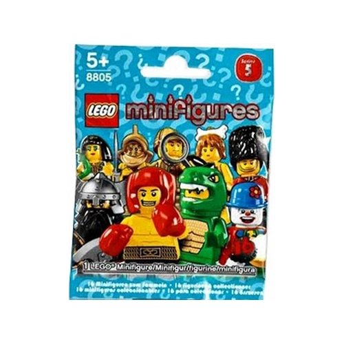 Double Headed Snake (LEGO 8805 Minifigures Series 5 (One Random Minifigure))
