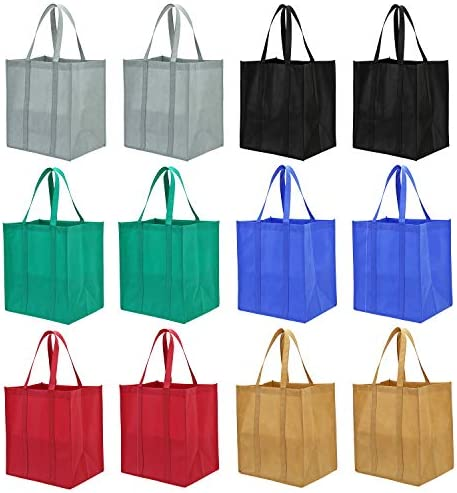 Lawei pack Reusable Grocery Bags