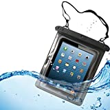 Waterproof Case Underwater Transparent Clear Bag Pouch with Touch for US Cellular iPad Mini 3 - Verizon iPad Air - Verizon iPad Air 2