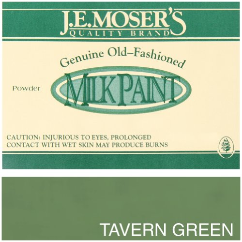 Milk Paint Green (J.E. Moser's 895060, Finishes, Wood Stains & Dyes, Tavern Green Milk Paint)