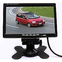 EinCar 7 TFT Color LCD Car Monitor HD Digital Full Color LED Backlight Display Car TV Monitor for Back up Camera