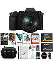 $1599 » Fujifilm X-S10 Mirrorless Digital Camera with XF 16-80mm f/4 R OIS WR Lens Kit and Essential Accessory Bundle (5 Items)