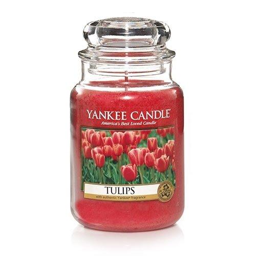 Yankee Candle Tulips Large Jar Candle, Floral (Tulip Jar)