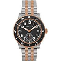 Nautica NAPHST004 Black Dial Men's Watch